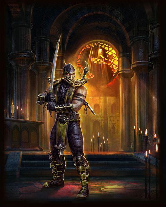 33 Best Scorpion Mortal Kombat Images On Pinterest Scorpion Mortal Kombat Videogames And