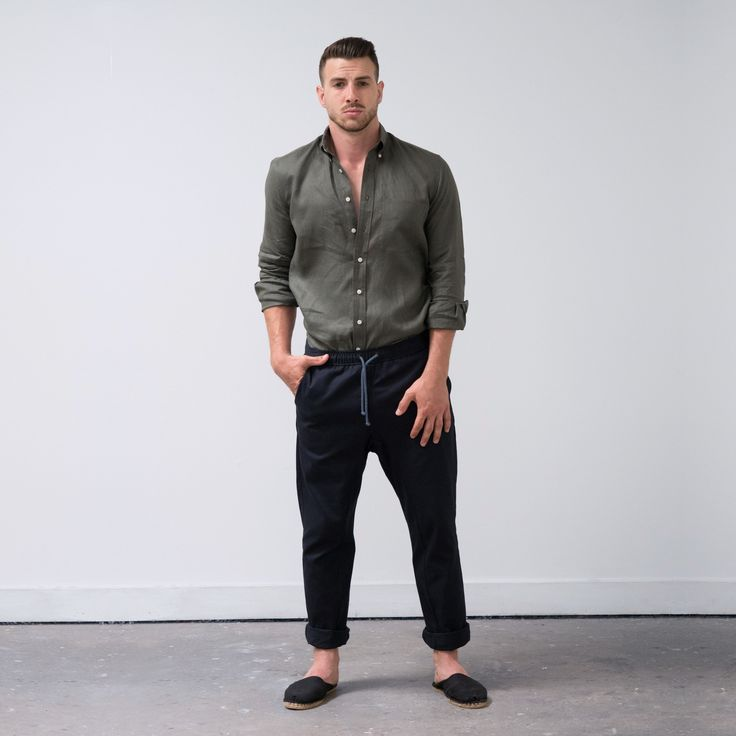 The Everyday Trouser returns for Spring Summer in a lightweight 6oz Japanese cotton twill. Once again ...