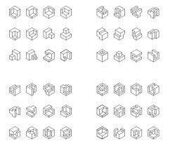 láminas de vistas para hacer en isometrica - Buscar con Google