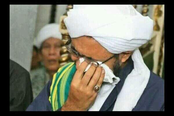 Habib crying