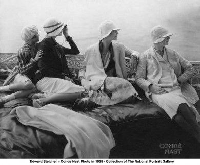 <3: 1920 S, Edwards Ponds, Edward Steichen, Lee Miller, Fashion Photography, Cloche Hats, 1920S, Vintage Vogue, Yachts