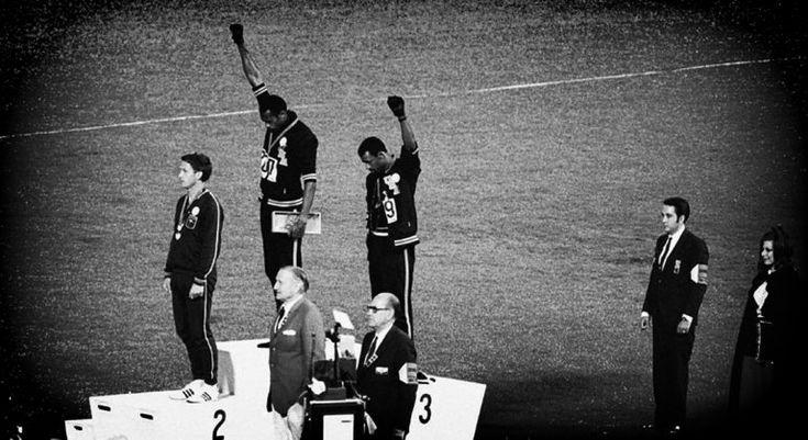 İnsan Hakları İçin Olimpiyat Projesi Hareketi - Tommie Smith, John Carlos, Peter Norman- 1968 Mexico City