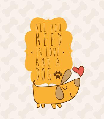 Arte DOG LOVERS de Karenrulez | Disponível em camiseta, poster, almofada, caneca…