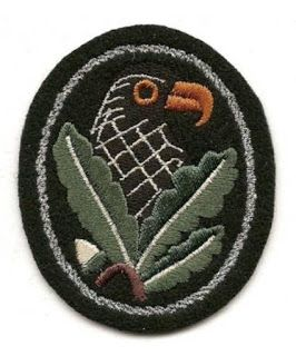 GERMAN SNIPER BADGES SECOND CLASS WEHRMACHT WAFFEN SS PATCHES GERMAN WW2 PRICE $55