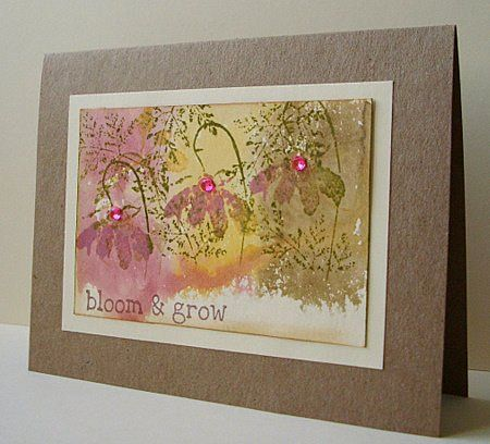 Bloom And Grow Cards Greeting Cards Handmade Cards