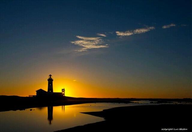 Sunset Cape Recife Port Elizabeth SA - copyright Luc Hosten