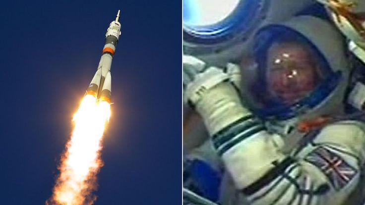 Tim Peake arrives at International Space Station
