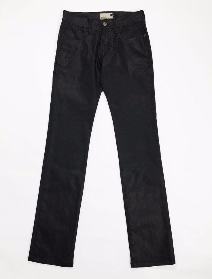 Energie style clash w29 l34 t boy tg 42 44 jeans uomo dark nero usato pants sexy