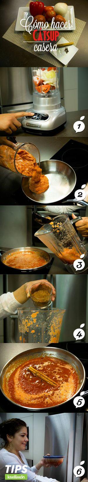 Te comparto mi secreto para saber la receta de como elaborar una deliciosa catsup casera con ingredientes sanos y fáciles de conseguir.