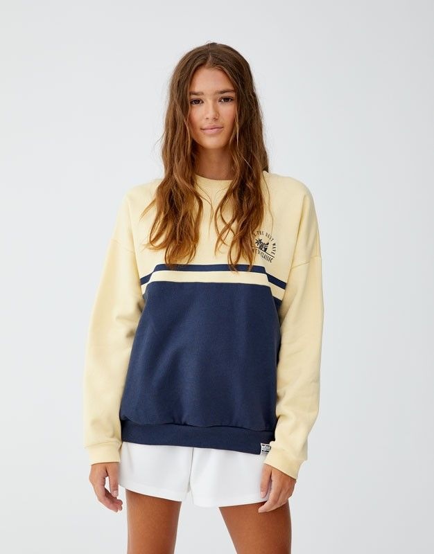 Sweat Pull And Bear 30 Ropa Guay Ropa Pull And Bear Ropa