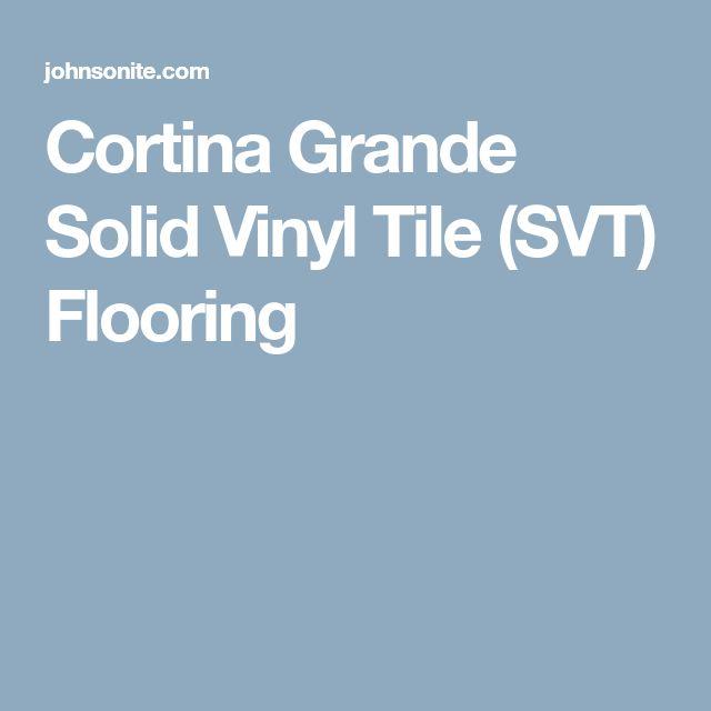 Cortina Grande Solid Vinyl Tile (SVT) Flooring