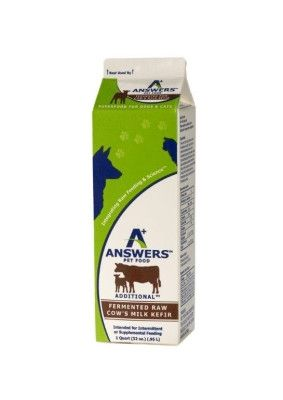 A+ ANSWERS FROZEN DOG - COWS MILK KEFIR W/BETA CAROTENE - 32OZ - LYSTN, LLC/A+ ANSWERS PET FOOD - UPC: 85655402843 - DEPT: OTHER PET FOODS