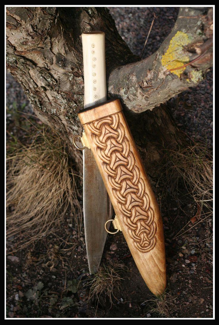 Anglo Saxon Seax Sheath 2 By Vendelrus Deviantart Com On