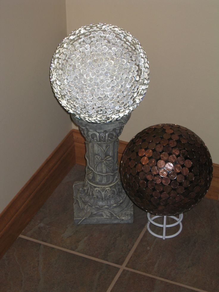 Glass marble covered bowling ball. magnets glass http://www.ecrafty.com/c-81-craft-supplies.aspx