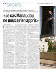 «Le cas Manaudou nenous a rien appris» - Libération