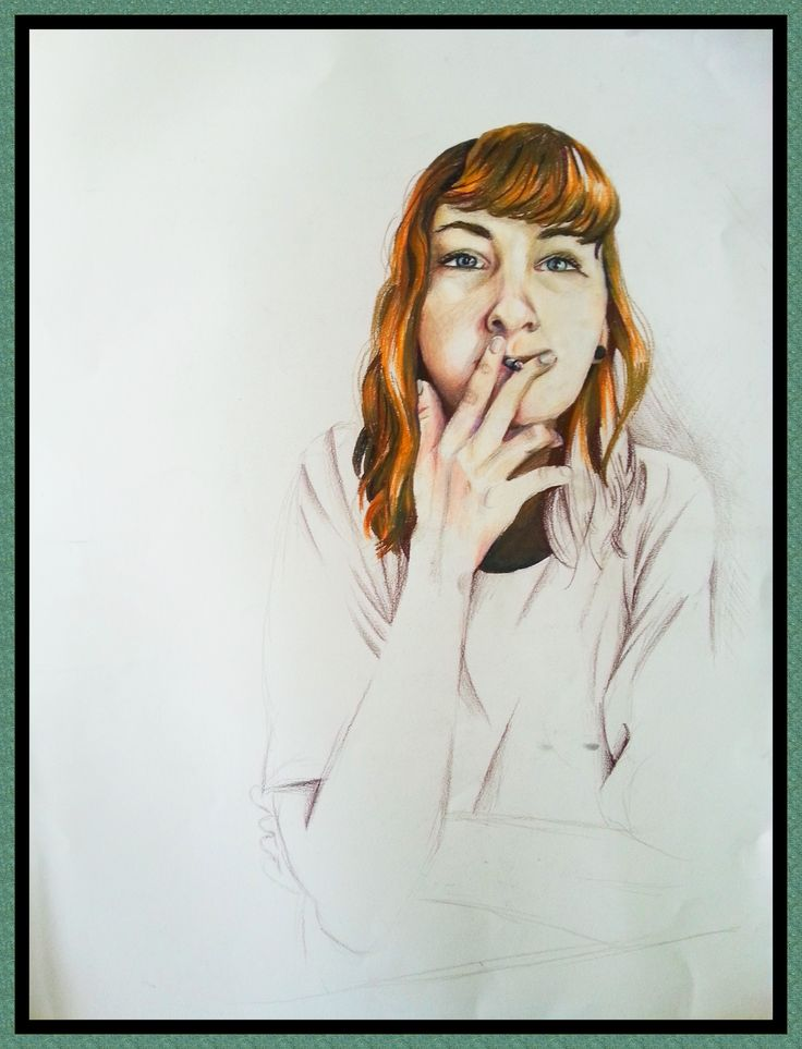 Danny - Casey Richards, 1 May 2015, 41, 5 x 30 cm, Coloured Pencil Drawing