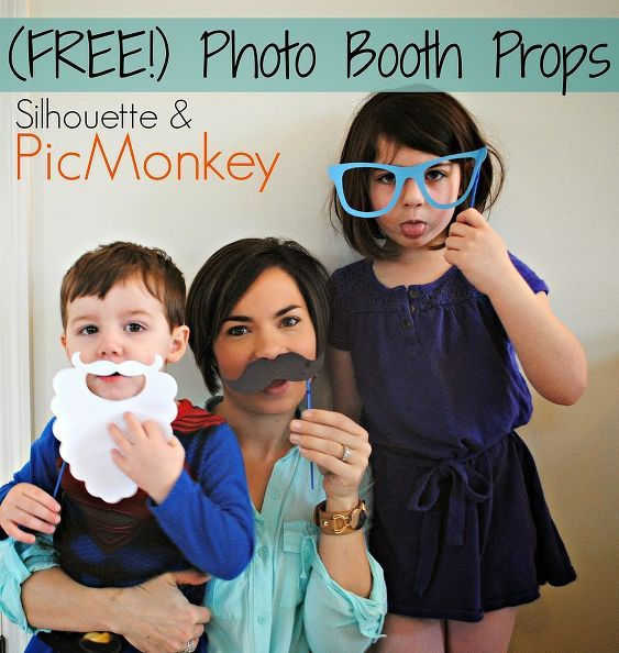 DIY Photo Booth Props (Free & Fun for Kids)