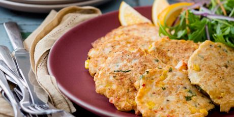 Crab and corn cakes | Marvellous Meat, Poultry and Sea Food ...