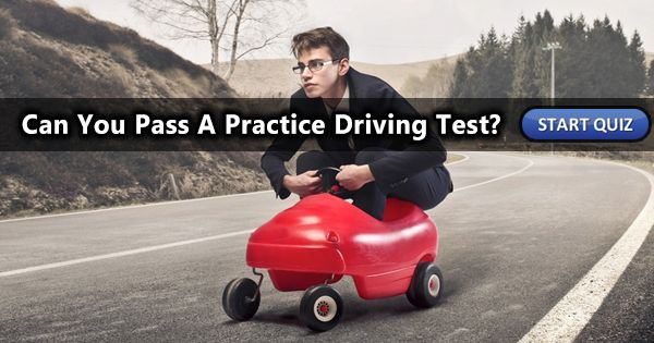 Are you able to pass a practice driving test?  Take this short 7 question quiz now to find out!