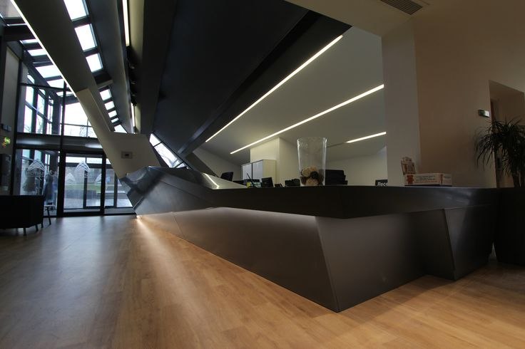 Project Update: Ashton Sixth Form College Reception Desk   Lomax ...