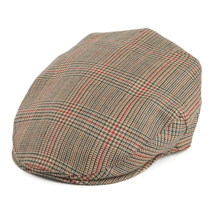 Lochcarron Of Scotland Pure Wool Flat Cap - Minto from Village Hats.