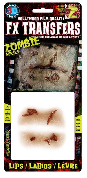Tinsley Transfers - Zombie Series - Lips