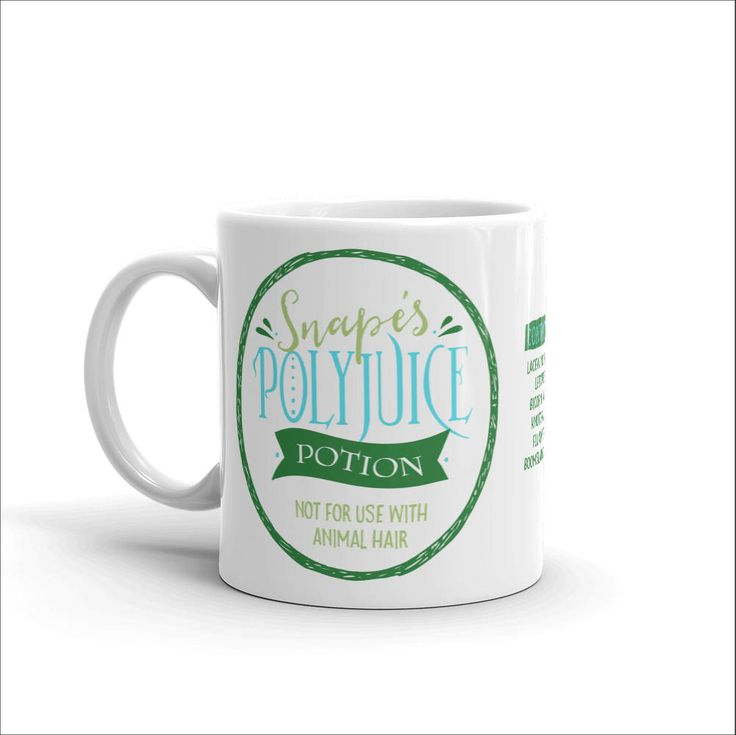 Mug, Snapeu0027s Polyjuice Potion, Not For Use With Animal Hair, Harry Potter  Fan