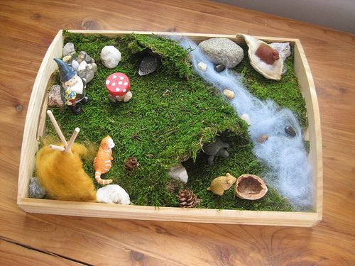 mossy mini playscape