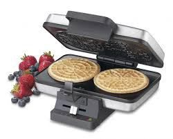 #bestoftheday #FF The Cuisinart Pizzelle Maker WM-PZ2 makes it easy to bake the perfect pizzelle. This unit by Cuisinart can quickly and conveniently bake two- four inch pizzelles simultaneously. Each pizzelle comes out perfectly thin and crispy every time. The Cuisinart Pizzelle maker lets you choose from 5...