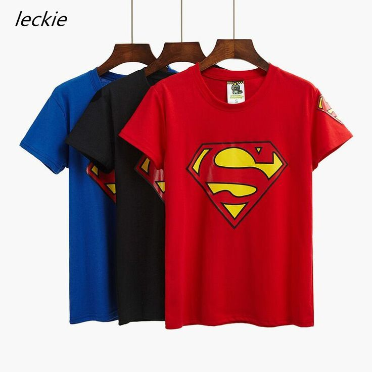 >> Click to Buy << 2017 summer t-shirts new short-sleeved T-shirt women's shirt shirt Superman T-shirt women's short-sleeved shirt cotton t shirt #Affiliate
