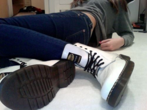 White Doc Martens.. One day i will have you!