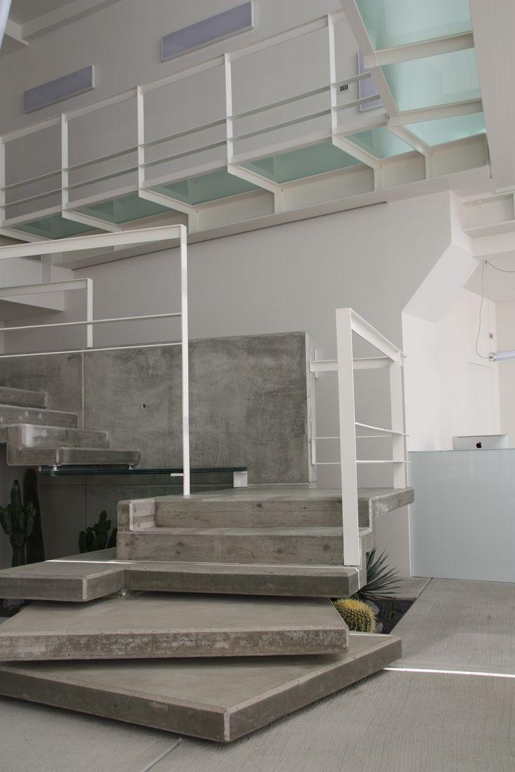 cubi di cemento per la realizzazione scala