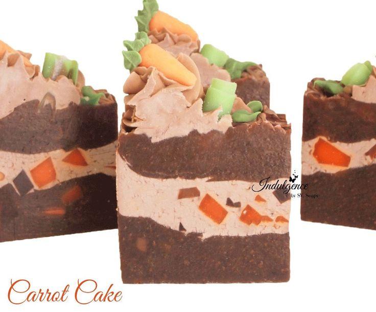 Carrot Cake Handmade Artisan Vegan Soap