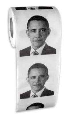 OBAMA TOILET PAPER http://geekandhip.com/product/obama-toilet-paper/