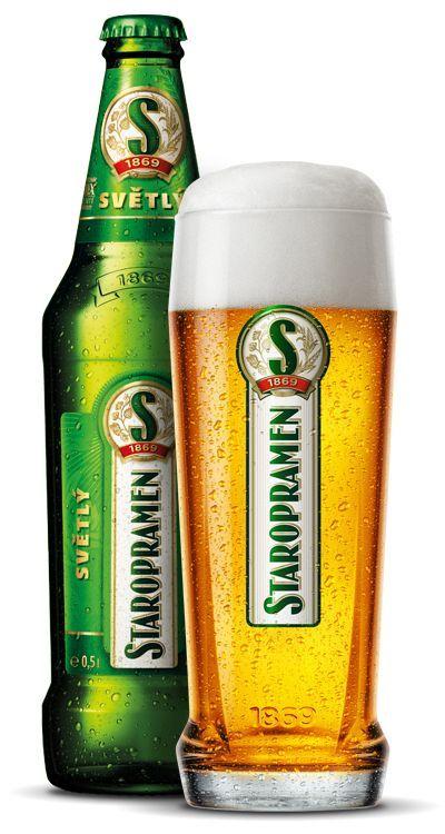 Staropramen,  Premium Lager  5% abv (Pivovary Staropramen, Rep. Checa)