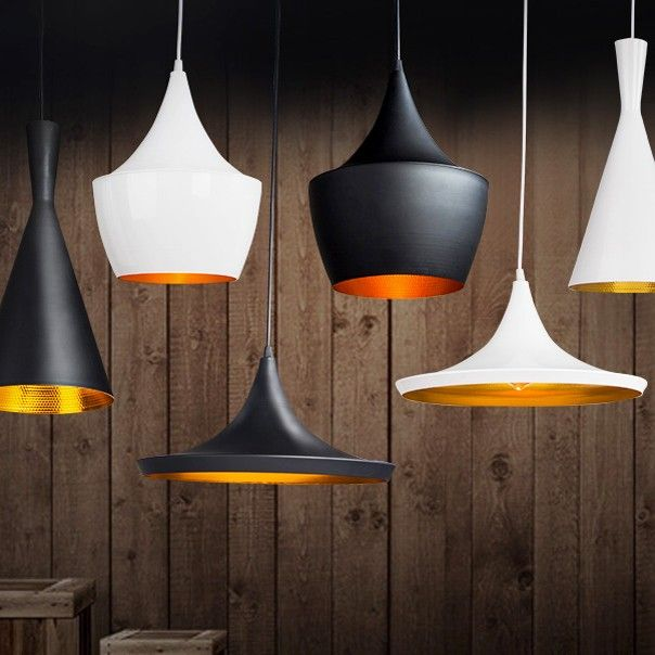 This modern light gets a bright black or white makeover. The shade is constructed from aluminum that is coated with lacquer finish on the outer surface. Add a chic and simple look to make it ideal for a kitchen, dining counter or home lounge. This small fixture can be enhanced by grouping in multiples.