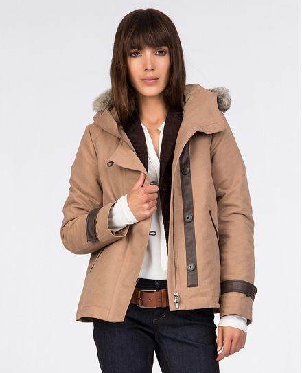 Hooded parka | Coats and jackets | Comptoir des Cotonniers