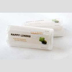 biodegradowalne bibułki do pieluszek wielorazowych 100szt.
