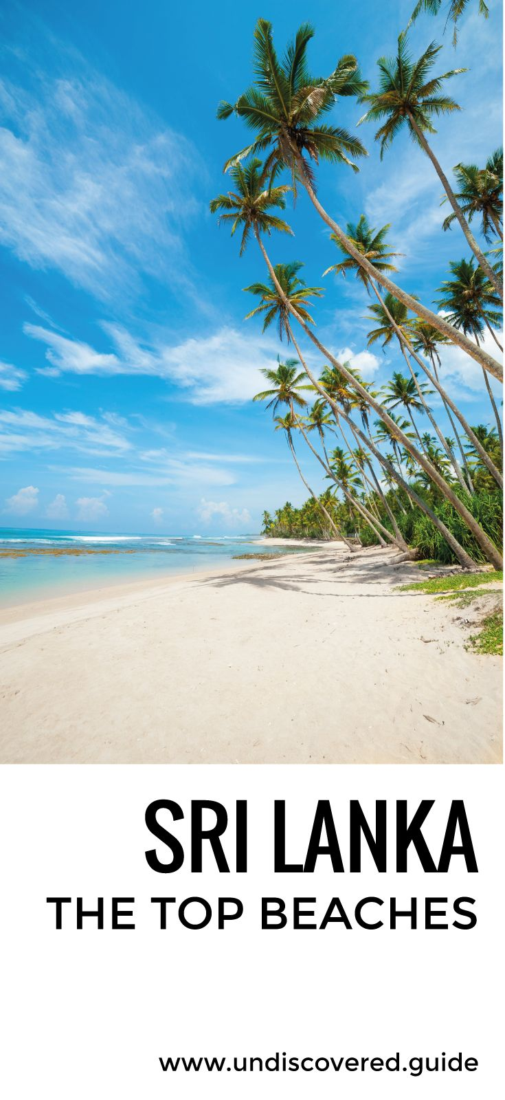 #VisitSriLanka Sri Lanka is blessed with some beautiful sands - here's our guide to the top beaches http://www.undiscovered.guide/sri-lanka/beach-guide #SriLanka #Travel