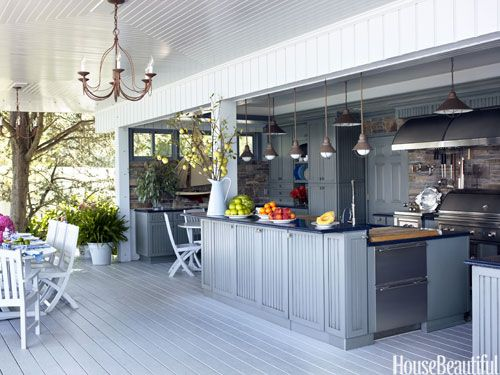 Sweet Outdoor Kitchen!