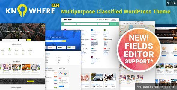 Free Download Knowhere Pro Multipurpose Classified Directory Wordpress Theme In 2020 Wordpress Theme Wordpress Premium Wordpress Themes