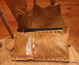 Rocky Mountain Custom Leather journal portfolio