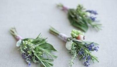 Come fare dei segnaposto con le erbe aromatiche