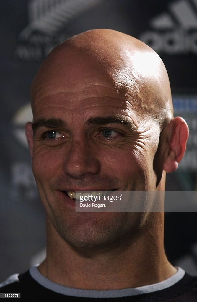A portrait of John Mitchell the New Zealand coach during the Tri - nations Tournament at Umhlanga Rocks in Durban, South Africa on August 9, 2002.