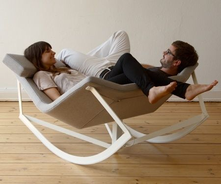 rocking chair for two.. very cool
