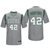 Boston Celtics #42 Al Horford Gray Alternate Parquet Pride New S