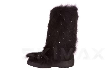 Diavolezza Black Fox Luxusni zimní boty z pravé kožešiny Diavolezza Luxury winter fur boots Diavolezza