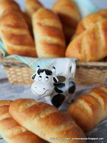buleczki mleczne, buleczka, bulka, pieczywo, domowe wypieki, moje wypieki, sniadanie, world bread day, dzien chleba