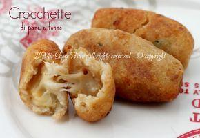 Deliziose #crocchette di #pane e #tonno cotte in forno ;) http://blog.giallozafferano.it/loti64/crocchette-di-pane-raffermo-con-tonno/