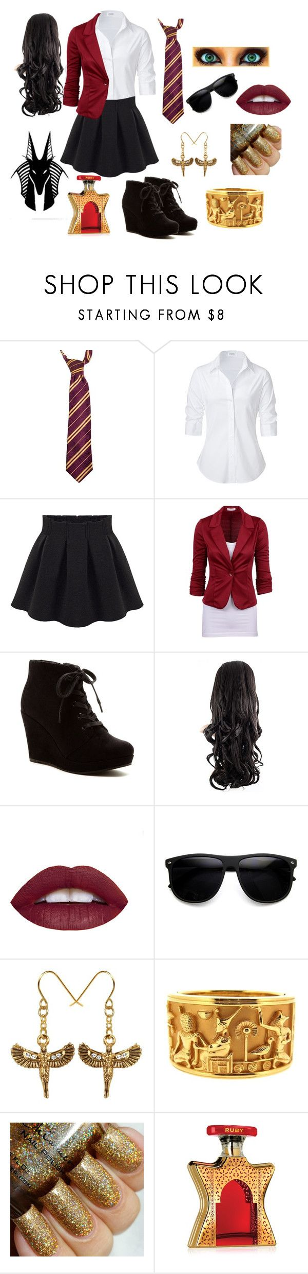 """House of Anubis"" by rczar99 ❤ liked on Polyvore featuring Steffen Schraut, Rampage and Bond No. 9"